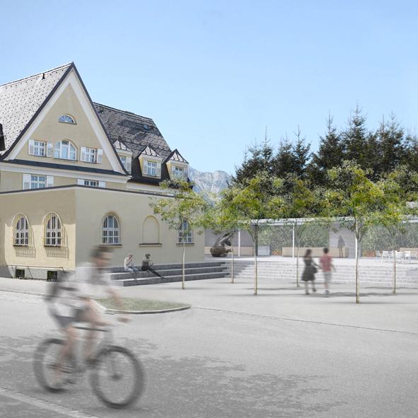 Wettbewerb Kunstmuseum Mittenwald, 1. Preis