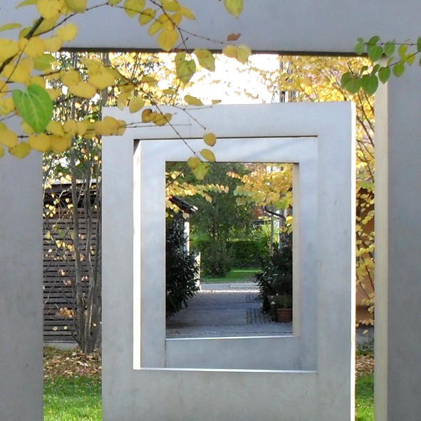 Ackermannbogen – Quartiersplatz Gustav-Landauer-Bogen & Kunst am Bau