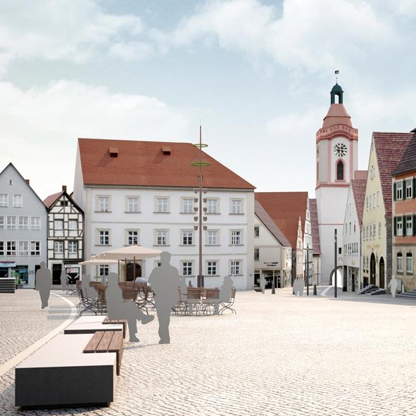 Wettbewerb Marktplatz Weißenburg, 4. Preis