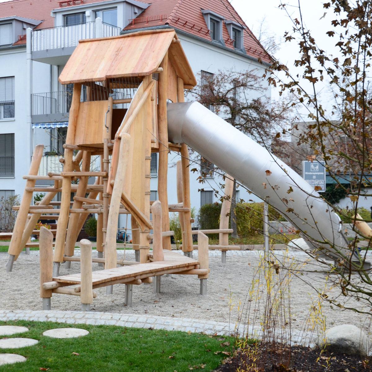 Hofumgestaltung Gartenhofsiedlung Haar – Hof 2