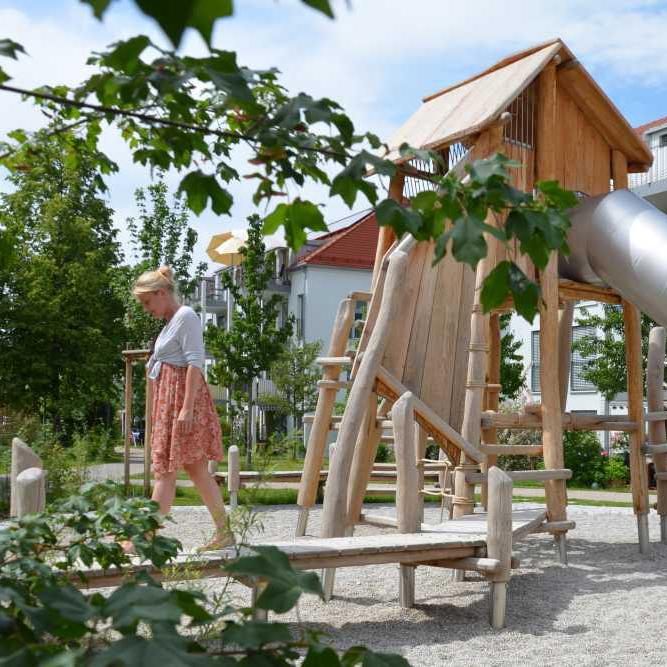 Hofumgestaltung Gartenhofsiedlung Haar, Hof 2